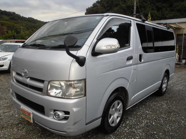 トヨタ ロングDX HID タイミングチェーン HDDナビ ABS