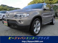 BMW X54.4i バックカメラ HID DVDナビ パワーシート