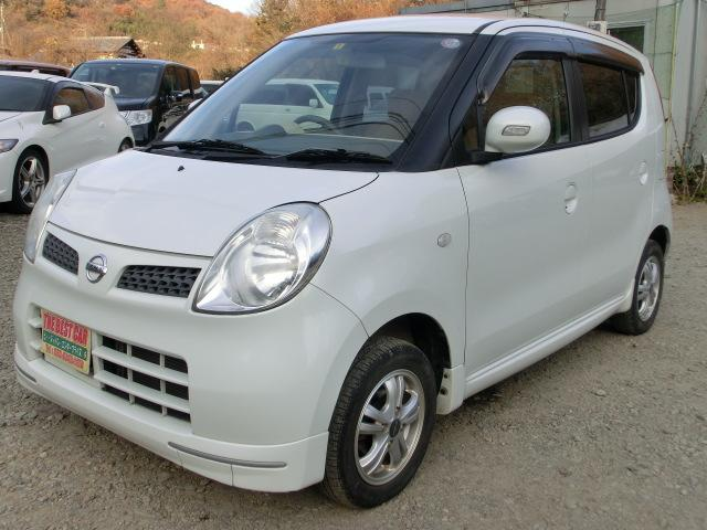 日産 モコ E FOUR 4WD ワンオーナースマートキータイミングチェーン