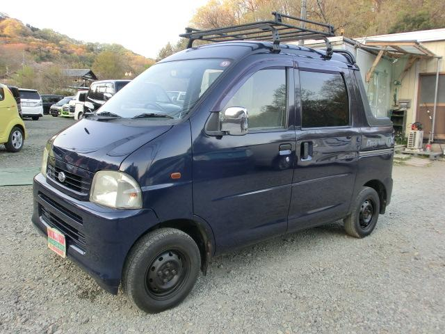 ダイハツ デッキバンGX パートタイム4WD 5MT