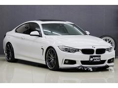 BMW435iクーペ MスポーツSR黒革Mパフォスポイラー20AW