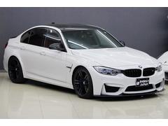 BMWM3アダプティブMサス黒革アクラポビッチカーボンエアロインテ