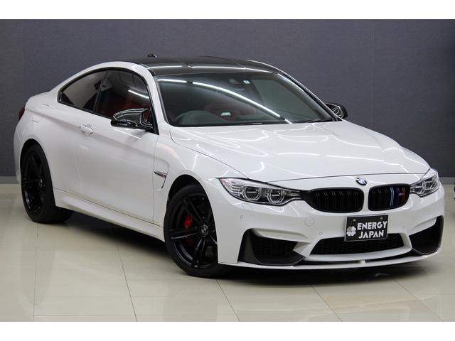 BMW M4 赤革OPフルレザーメリノMパフォカーボンエアロ19AW