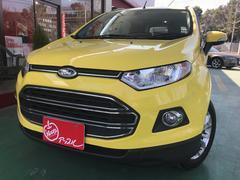 フォード エコスポーツブライトイエロー 特別仕様車 1オーナー 革シート 1年保証