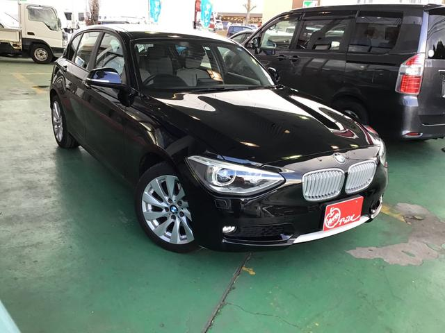BMW 120i スタイル 純正HDDナビ パワーシート ETC
