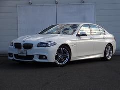 BMW523d Mスポーツ 純正ETC・HDDナビ 純正18インチ