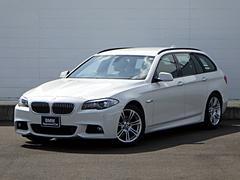 BMW528iツーリング Mスポーツ 黒本革シート バックカメラ