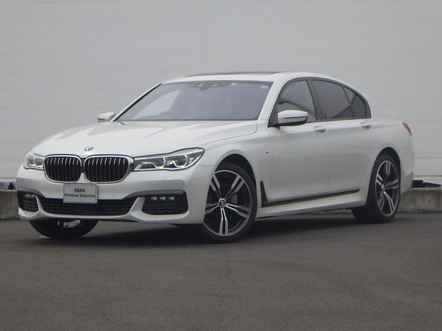 BMW 740i Mスポーツ ワンオーナーACCサンルーフLED