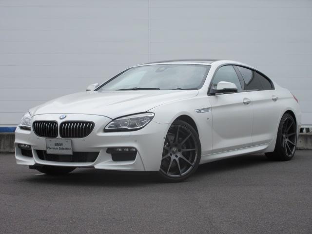BMW 640iグランクーペ Mスポーツ ワンオーナー ACC SR