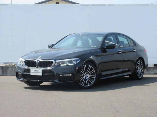 BMW 523d Mスポーツ 元社有車 純正HDDナビ レザーACC