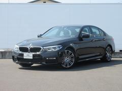 BMW523d Mスポーツ 元社有車 純正HDDナビ レザーACC
