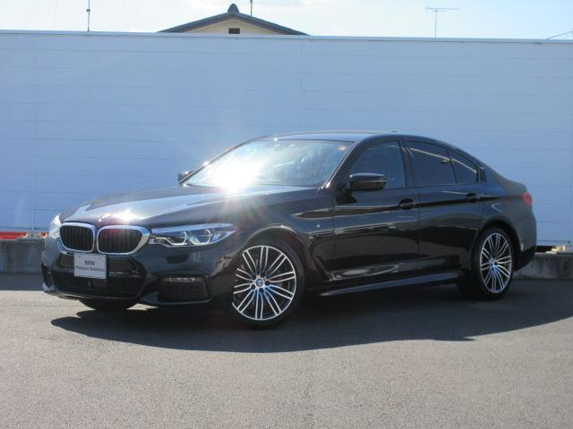BMW 5シリーズ 523i Mスポーツ ハイラインパッケージ アダプティブLEDヘッドライト 純正ETC 純正HDDナビ レザーシート シートヒーター ドライビングアシスト ACC コンフォートアクセス オートトランク 純正19インチ