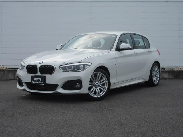 BMW 118d Mスポーツ LEDヘッドライト クルーズコントロール 社外ドラレコ PDC バックカメラ ドライビングアシスト SOSコール 純正17インチ 純正HDDナビ 純正ETC