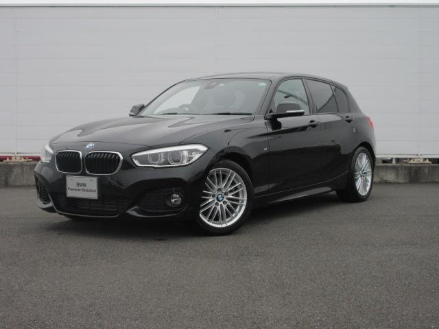 BMW 118i Mスポーツ LEDヘッドライト 純正ETC 純正HDDナビ コンフォートアクセス クルーズコントロール ドライビングアシスト 社外バックカメラ シートヒータ 純正17インチ