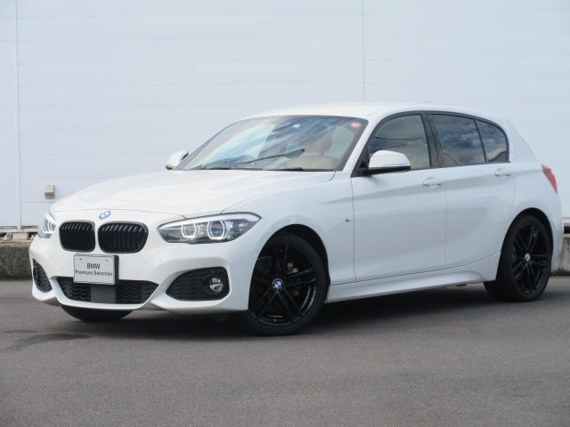 BMW 118d Mスポーツ エディションシャドー ワンオーナー LEDヘッドライト 純正HDDナビ ACC レザーシート シートヒーター PDC バックカメラ コンフォートアクセス 純正18インチ