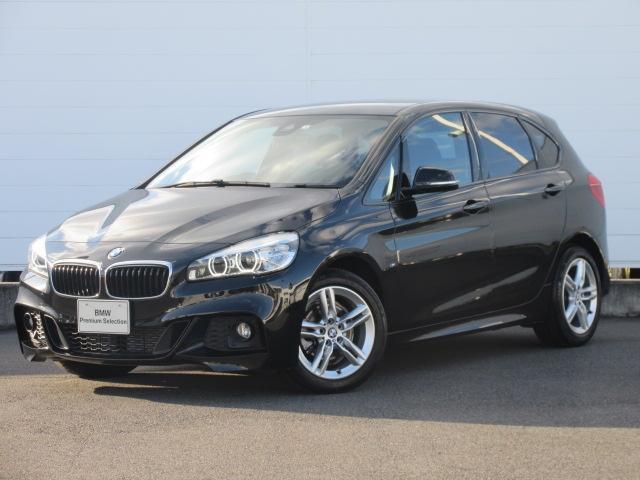 BMW 218dアクティブツアラー Mスポーツ LEDヘッドライト 純正17インチ 純正ETC 純正HDDナビ コンフォートアクセス PDC バックカメラ シートヒーター ドライビングアシスト オートマチックテールゲート