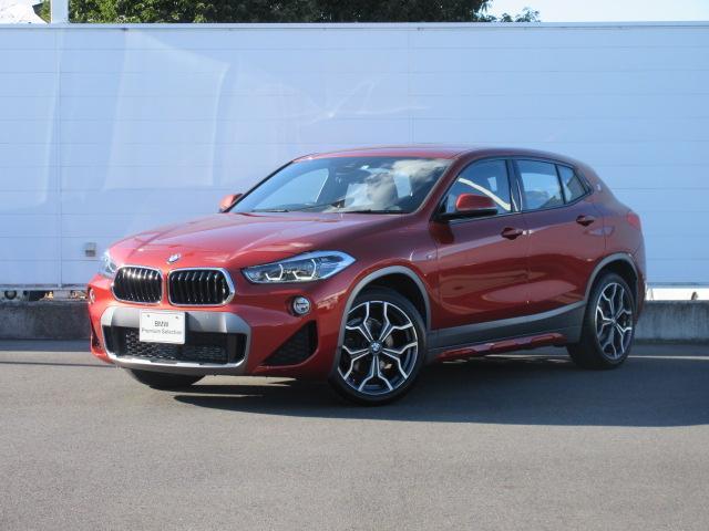 BMW X2 sDrive 18i MスポーツX 正規認定中古車 全国保証 元デモカー LEDヘッドライト コンフォートアクセス ACC シートヒーター PDC バックカメラ オートマチックテールゲート 純正19インチ