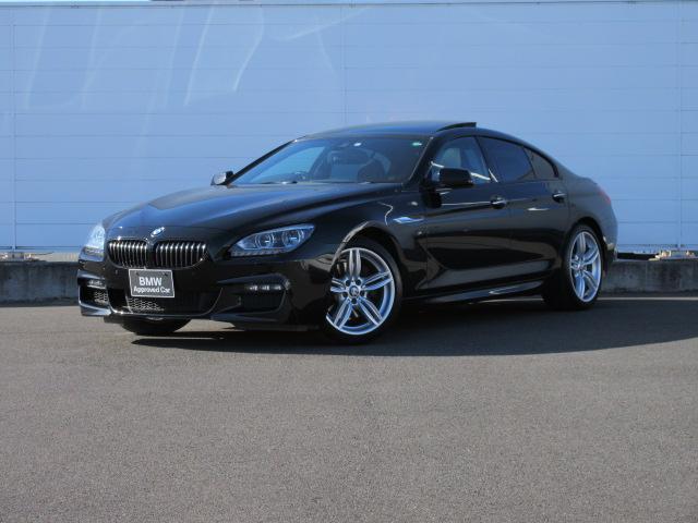 BMW 6シリーズ 640iグランクーペ Mスポーツ アダプティブLEDヘッドライト 純正HDDナビ コンフォートアクセス レザーシート シートヒーター PDC バックカメラ ドライビングアシスト 純正19インチ クルーズコントロール