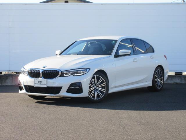 BMW 330i Mスポーツ LEDヘッドライト 純正HDDナビ ハーフレザー シートヒータ ACC パドルシフト オートトランク PDC バックカメラ ワイヤレスチャージング 純正18インチ