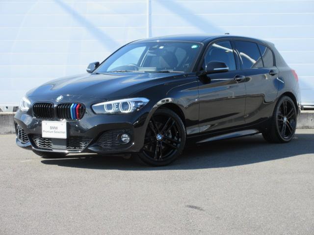 BMW 118i Mスポーツ エディションシャドー 正規認定中古車 ワンオーナー 純正ETC 純正HDDナビ 前後PDC シートヒーター ACC バックカメラ コンフォートアクセス LEDヘッドライト ドライビングアシスト 純正18インチ
