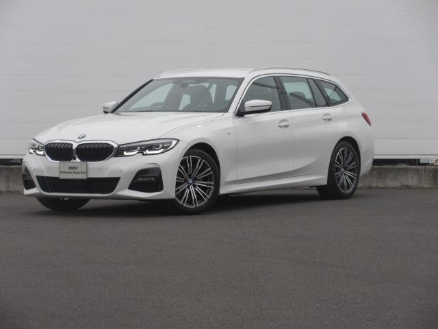 BMW 3シリーズ 320d xDriveツーリング Mスポーツ 正規認定中古車 LEDヘッドライト 純正HDDナビ ハーフレザーシート シートヒーター パドルシフト ACC コンフォートアクセス オートマチックテールゲート PDC バックカメラ 純正18インチ