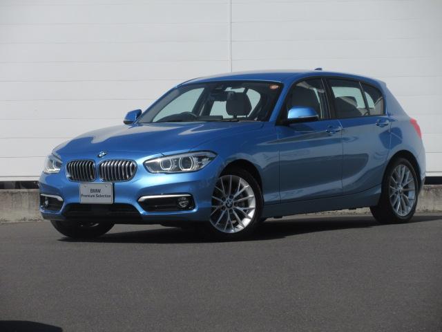 BMW 1シリーズ 118d ファッショニスタ 正規認定中古車 弊社元社有車 LEDヘッドライト シートヒーター オイスターレザー ACC PDC バックカメラ コンフォートアクセス ドライビングアシスト 純正17インチ