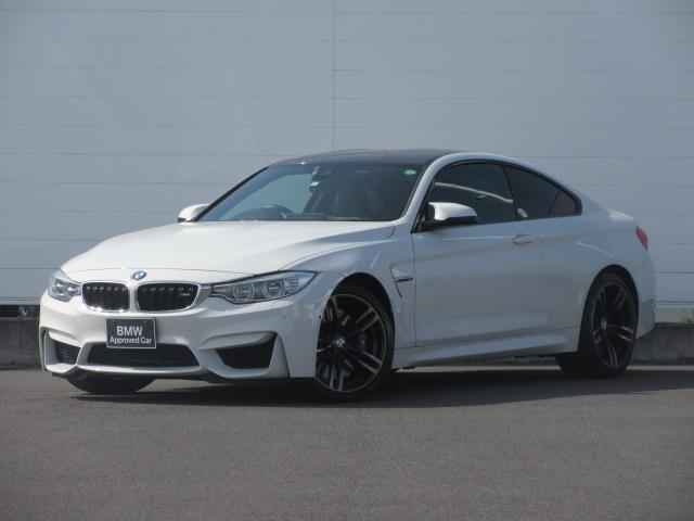 BMW M4クーペ 正規認定中古車 LEDヘッドライト 純正HDDナビ レザーシート シートヒーター クルーズコントロール SOSコール