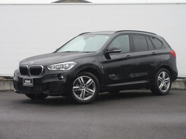 BMW X1 xDrive 18d Mスポーツ 正規認定中古車 LEDヘッドライト 純正ETC 純正HDDナビ コンフォートアクセス バックカメラ PDC ドライビングアシスト オートマチックテールゲート 純正18インチ