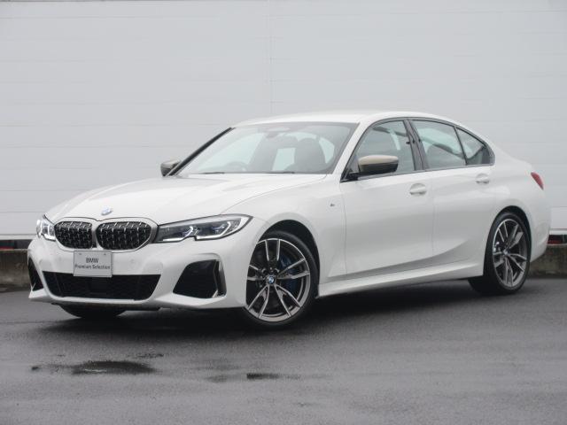 BMW 3シリーズ M340i xDrive 正規認定中古車 ワンオーナー レーザーライト レザーシート シートヒーター ヘッドアップディスプレイ 純正HDDナビ ジェスチャーコントロール リバースアシスト 純正19インチ ACC