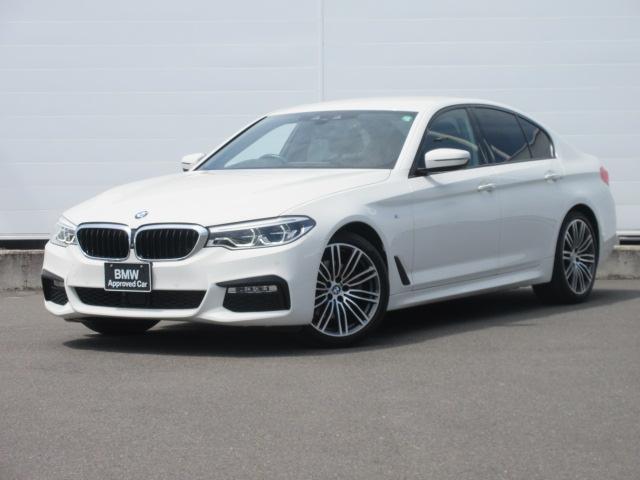BMW 5シリーズ 523d Mスポーツ アダプティブLEDヘッドライト 純正ETC 純正HDDナビ ACC ヘッドアップディスプレイ 純正19インチ オートマチックテールゲート