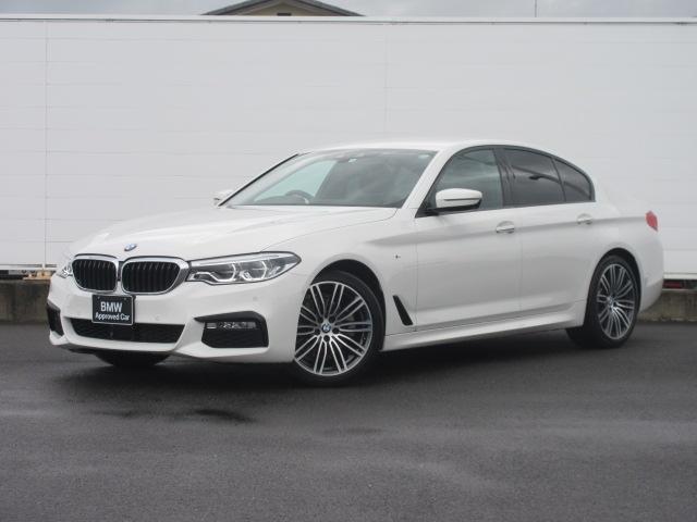 BMW 5シリーズ 523d Mスポーツ ハイラインパッケージ ワンオーナー 純正HDDナビ 純正ETC レザーシート シートヒーター コンフォートアクセス 電動リアゲート 電動シート 純正19インチ アダプティブLEDヘッドライト