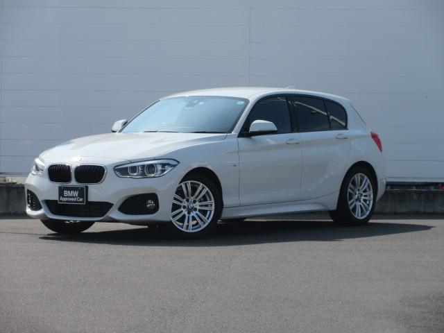 BMW 118d Mスポーツ 正規認定中古車 LEDヘッドライト 純正ETC 純正HDDナビ クルーズコントロール コンフォートアクセス ドライビングアシスト 純正17インチ