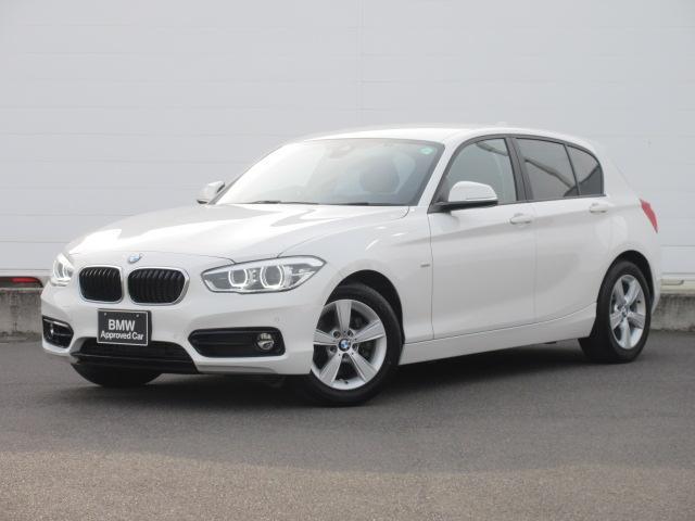 BMW 118i スポーツ 正規認定中古車 純正ETC 純正HDDナビ LEDヘッドライト クルーズコントロール ドライビングアシスト バックカメラ 純正16インチ 前後PDC