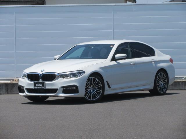 BMW 5シリーズ 530i Mスポーツ ワンオーナー アダプティブLEDヘッドライト 純正HDDナビ レザーシート シートヒーター ACC PDC バックカメラ コンフォートアクセス オートマチックテールゲート 純正19インチ