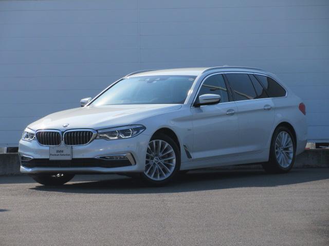 BMW 5シリーズ 523iツーリング ラグジュアリー 純正ETC 純正HDDナビ ACC レザーシート シートヒーター 純正18インチ 前後PDC バックカメラ オートマチックテールゲート コンフォートアクセス アダプティブLEDヘッドライト