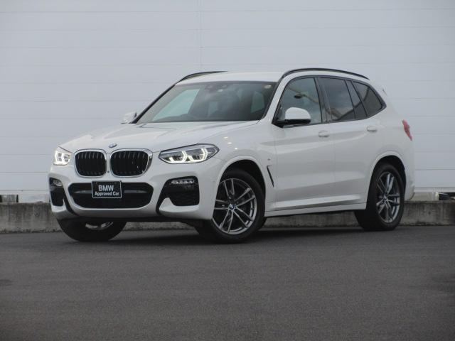 BMW X3 xDrive 20d Mスポーツ 正規認定中古車 アダプティブLEDヘッドライト 純正ETC 純正HDDナビ ACC ハーフレザーシート シートヒーター PDC バックカメラ ワイヤレスチャージング 純正19インチ HUD