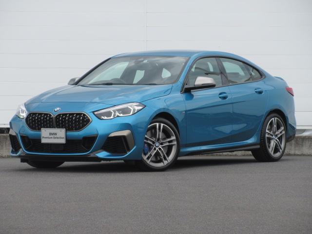 BMW M235i xDriveグランクーペ 弊社元デモカー LEDヘッドライト 純正HDDナビ ACC コンフォートアクセス シートヒーター パーキングアシスト リバースアシスト 純正18インチ
