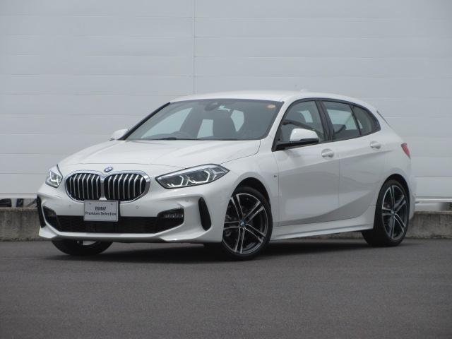 BMW 1シリーズ 118d Mスポーツ エディションジョイ+ 正規認定中古車 弊社元デモカー LEDヘッドライト 純正HDDナビ コンフォートアクセス ACC PDC バックカメラ BMWライブコックピット リバースアシスト 純正18インチ
