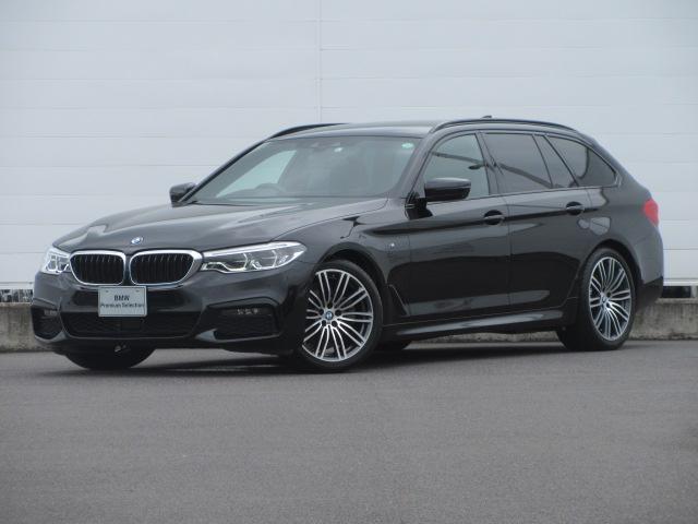 BMW 5シリーズ 523dツーリング Mスポーツ 正規認定中古車 ワンオーナー アダプティブLEDヘッドライト 純正HDDナビ ACC パーキングアシスト ドライビングアシストプラス 純正19インチ オートマチックテールゲート