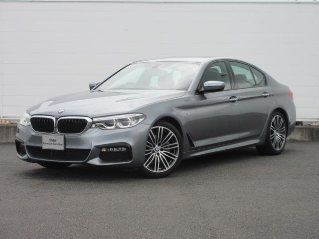 BMW 5シリーズ 523d Mスポーツ ハイラインパッケージ 正規認定中古車 純正HDDナビ 純正ETC ACC レザーシート シートヒーター ヘッドアップディスプレイ オートマチックテールゲート アダプティブLEDヘッドライト 純正19インチ