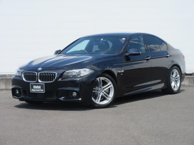 BMW 5シリーズ 523d Mスポーツ 正規認定中古車 純正ETC 純正HDDナビ コンフォートアクセス ACC PDC バックカメラ ドライビングアシスト 純正18インチ