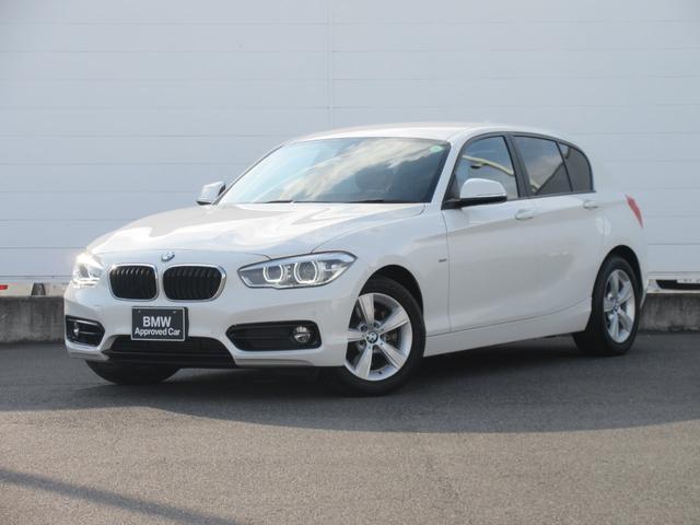 BMW 118i スポーツ 正規認定中古車 LEDヘッドライト 純正ETC 純正HDDナビ クルーズコントロール 純正16インチ Bluetooth ドライビングアシスト パーキングアシスト