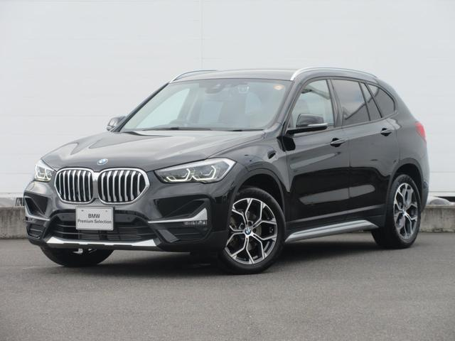 BMW X1 xDrive 18d xライン 正規認定中古車 ワンオーナー 純正HDDナビ 純正ETC ACC ハーフレザーシート 電動シート オートマチックテールゲート LEDヘッドライト バックカメラ 純正18インチ