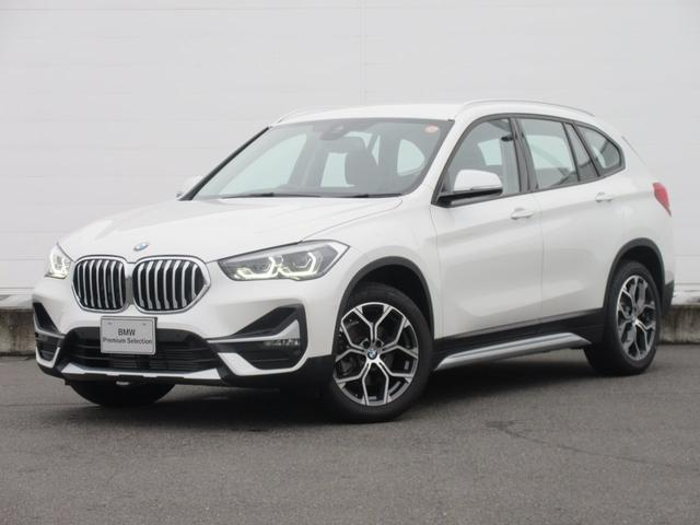 BMW X1 xDrive 18d xライン 正規認定中古車 弊社元デモカー 純正HDDナビ 純正ETC 純正18インチ ハーフレザーシート ACC コンフォートアクセス オートマチックテールゲート 電動シート バックカメラ