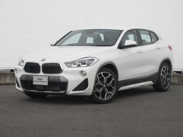 BMW X2 sDrive 18i MスポーツX 正規認定中古車 弊社元デモカー 純正HDDナビ ACC 純正ETC ハーフレザーシート シートヒーター ヘッドアップディスプレイ ドライビングアシスト オートマチックテールゲート 純正19インチ