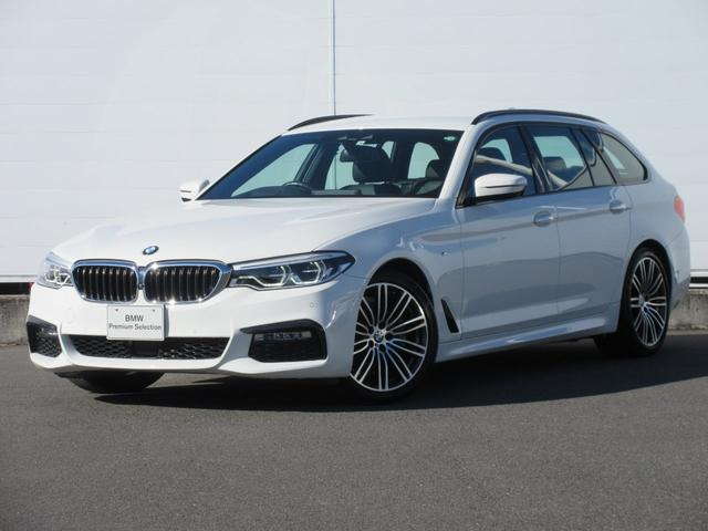 BMW 523iツーリング Mスポーツ ハイラインパッケージ 正規認定中古車 弊社元社有車 アダプティブLEDヘッドライト 純正HDDナビ ACC ドライビングアシストプラス ヘッドアップディスプレイ オートマチックテールゲート 純正19インチ レザーシート