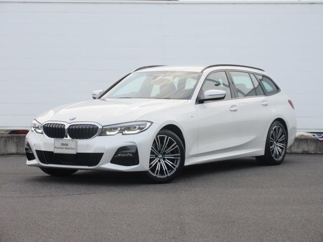 BMW 320dxDriveツーリングMスポーツハイラインP 正規認定中古車 弊社元社有車 LEDヘッドライト 純正HDDナビ コンフォートアクセス ACC ドライビングアシストプロフェッショナル レザーシート シートヒーター パーキングアシスト 純正18インチ