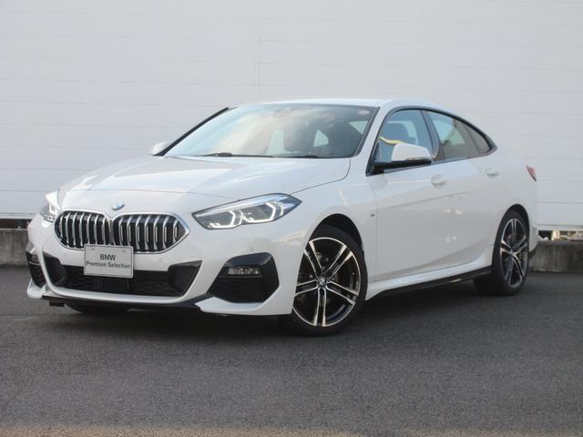 BMW 218iグランクーペ Mスポーツ 正規認定中古車 元デモカー 純正HDDナビ LEDヘッドライト パーキングアシスト 後退アシスト ACC ワイヤレスチャージング コンフォートアクセス 純正18インチ