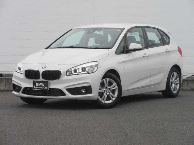 BMW 218dアクティブツアラー 正規認定中古車 弊社元社有車 LEDヘッドライト 純正ETC 純正HDDナビ PDC シートヒーター バックカメラ 純正16インチ コンフォートアクセス ドライビングアシスト 電動リアゲート