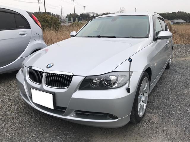 BMW 330i 革シート 純正HDDナビ